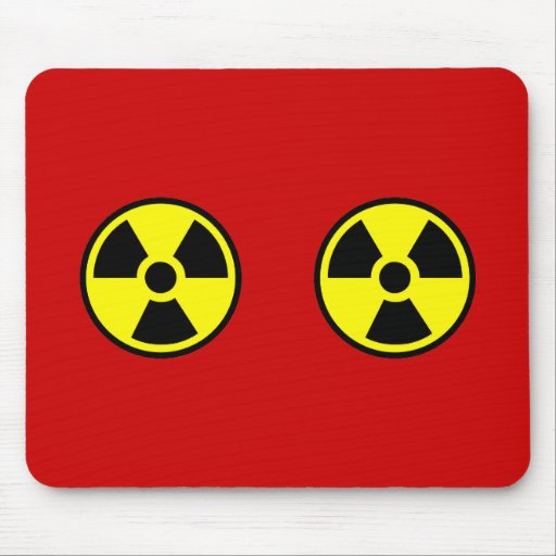 Radioactive Two Mouse Pad