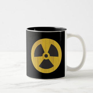 Radioactive Two-Tone Coffee Mug