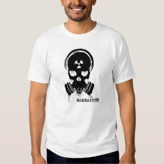 Radioactive Unltd. - GasMask white Playera