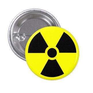 Radioactive warning button