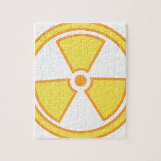 Radioactive Warning Jigsaw Puzzle