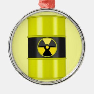 radioactive warning christmas tree ornament