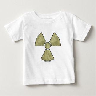 Radioactive Warning Symbol Baby T-Shirt