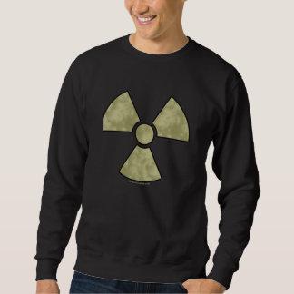 Radioactive Warning Symbol Sweatshirt