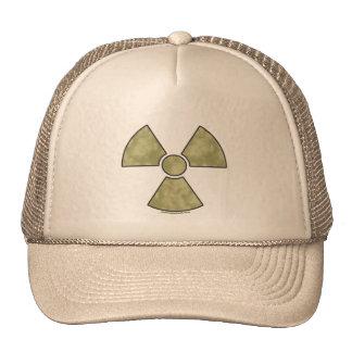 Radioactive Warning Symbol Trucker Hat