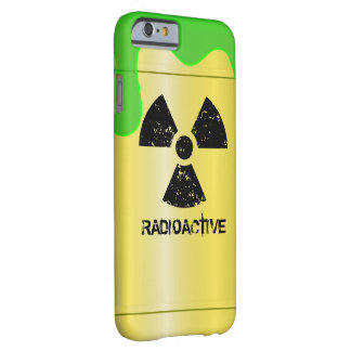 Radioactive Waste Drum Barely There iPhone 6 Case