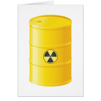 Radioactive Waste Greeting Cards