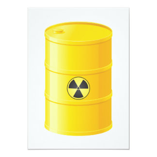 Radioactive Waste Invitations