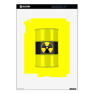 radioactive waste iPad 2 decals