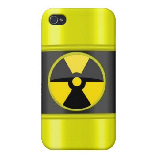 radioactive waste cover for iPhone 4