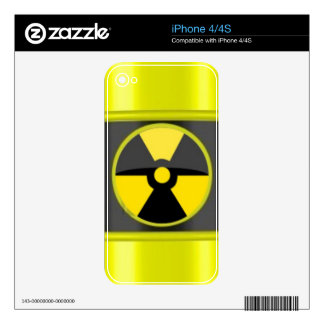 radioactive waste skins for the iPhone 4