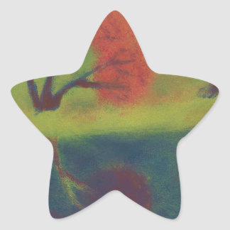 Radioactive Waters Star Sticker