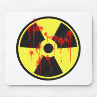 Radioactive Zombie Outbreak Mouse Pad