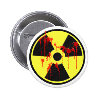 Radioactive Zombie Outbreak Pinback Buttons