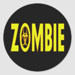 Radioactive Zombie Sticker