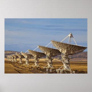 Radioastronomía nacional muy grande del arsenal ak posters
