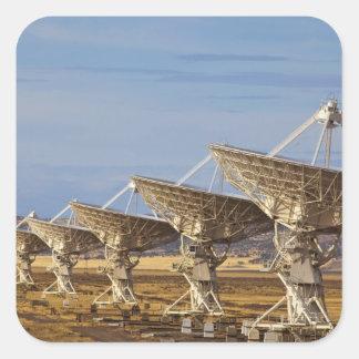 Radioastronomía nacional muy grande del arsenal pegatina cuadrada