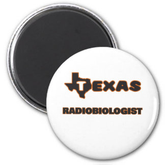 Radiobiólogo de Tejas Imán Redondo 5 Cm