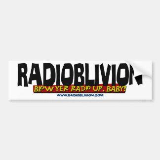 RadiOblivion - Blow Up Bumper Sticker