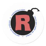 RadiOblivion R-Bomb stickers