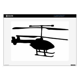 "radiocommand helicopter 15"" laptop skin"