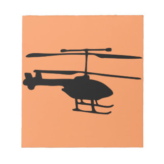radiocommand helicopter notepad