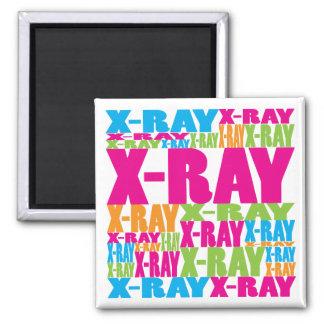 Radiografía colorida imán para frigorifico