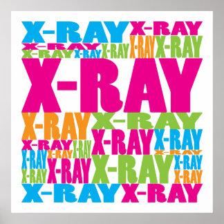 Radiografía colorida impresiones