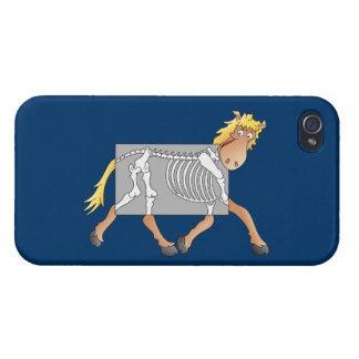 Radiografía del caballo iPhone 4 carcasa