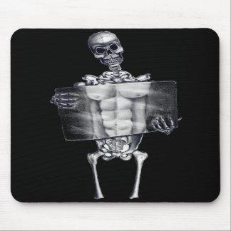 Radiografía del pecho esquelética Mousepad