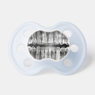Radiografía dentuda chupetes de bebe