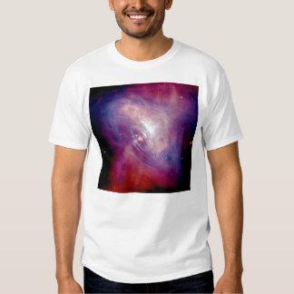 Radiografía e imágenes ópticas de la nebulosa de poleras