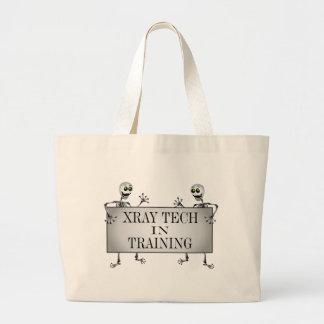 Radiografía en el entrenamiento bolsa tela grande