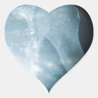 Radiografía Pegatina En Forma De Corazón
