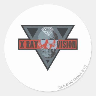 Radiografía Vision Etiquetas Redondas