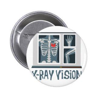 Radiografía Vision Pin Redondo De 2 Pulgadas