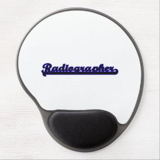 Radiographer Classic Job Design Gel Mouse Pad