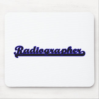 Radiographer Classic Job Design Mouse Pad