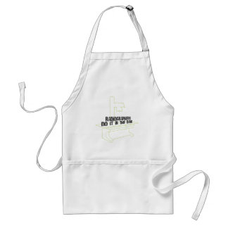 Radiographers Do It In the Dark (Line) Adult Apron