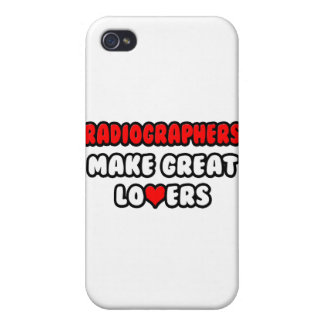 Radiographers Make Great Lovers iPhone 4 Cases