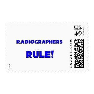Radiographers Rule! Stamp