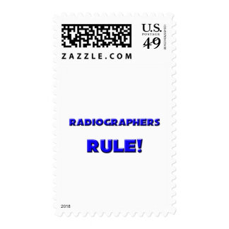 Radiographers Rule! Postage Stamps