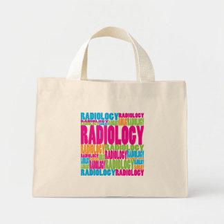 Radiología colorida bolsa tela pequeña