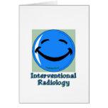 Radiología del HF Interventional Tarjeta De Felicitación