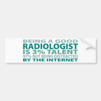 Radiologist 3% Talent Bumper Stickers