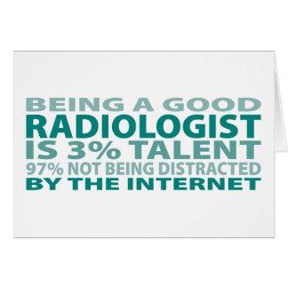 Radiologist 3% Talent Card