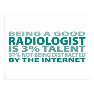 Radiologist 3% Talent Postcard