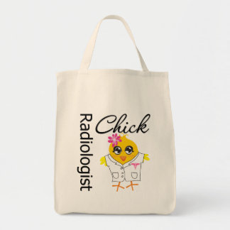 Radiologist Chick Canvas Bags
