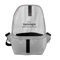 Radiologist Courier Bag at Zazzle