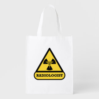 Radiologist Shield Grocery Bags
